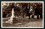 Real Photograph.  In the Park Masterton. - 47868 - Postcard