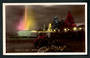 Coloured postcard of Marine Parade napier at night. - 47900 - Postcard