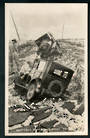 Photograph of Shattered Road (and Cars) Napier Earthquake 3/2/1931. - 47915 - Postcard