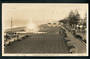 Real Photograph by A B Hurst & Son of Evening Marine Parade Napier. - 47935 - Postcard