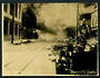 Photograph of Fire approaching the Post Office Napier. - 47963 - Photograph