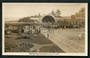 Real Photograph by A B Hurst & Son of the Skating Rink and Sound Shell Napier. - 48052 - Postcard