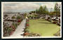 Coloured Real Photograph by A B Hurst & Son of Marine Parade Napier. - 48053 - Postcard