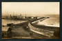 Real Photograph by Radcliffe of The Breakwater Napier. - 48077 - Postcard