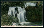 Coloured postcard of Waihirere Falls near Gisborne. - 48160 - Postcard