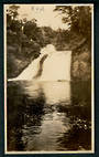 Photograph (not a postcard) of Twin Falls Waikaremoana taken in 1929. - 48185 - Postcard