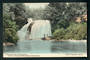 Coloured postcard of Aniwaniwa Falls Lake Waikaremoana. - 48195 - Postcard