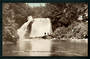 Real Photograph of Aniwaniwa Falls Waikaremoana. - 48202 - Postcard