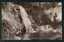 Real Photograph of Waihirere Falls near Gisborne. - 48203 - Postcard