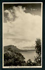 Real Photograph by A B Hurst & Son of Panekuri Bluff Lake Waikaremoana. - 48206 - Postcard