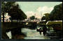 Coloured Postcard of Antigua Street Bridge Christchurch. - 48303 - Postcard