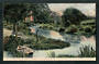Coloured postcard of the Upper Reaches of the Avon. - 48304 - Postcard
