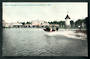 NEW ZEALAND 1906 New Zealand International  Exhibition. Coloured postcard of the Boat from the Water Chute. - 48305 - Postcard