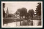 Real Photograph of The Avon Victoria Square Christchurch. Horse and cart in the River. - 48309 - Postcard