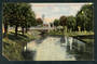 Coloured postcard of Avon Christchurch. One corner cut and a tear. - 48315 - Postcard