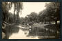 Real Photograph by Radcliffe. On the Avon Christchurch. - 48327 - Postcard