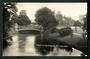 Real Photograph by Radcliffe of The Avon Christchurch. - 48329 - Postcard