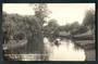 Real Photograph by Radcliffe of The Avon at Fendalton Christchurch. - 48330 - Postcard