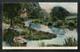 Coloured postcard of the River Avon Upper Reaches. - 48332 - Postcard