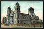 Coloured postcard of Roman Catholic Cathedral Christchurch. - 48341 - Postcard