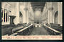 Early Undivided Postcard of the Interior of Christchurch. Cathedral. - 48345 - Postcard