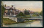 Coloured postcard of Christchurch. Hospital. - 48353 - Postcard