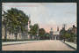 Coloured Postcard of Canterbury College and Museum Christchurch. - 48385 - Postcard