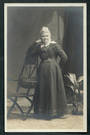 Real Photograph by Molesworth and Binns of Elderly Lady Christchurch. - 48390 - Postcard