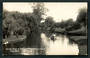 Real Photograph by Radcliffe. On The Avon at Fendalton Christchurch. - 48391 - Postcard