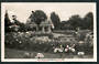 Real Photograph by A B Hurst & Son of Rose Gardens Christchurch. - 48392 - Postcard