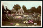 Coloured Real Photograph by A B Hurst & Son of Rose Gardens Christchurch. - 48393 - Postcard