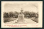 Early Undivided Postcard of The Moorhouse Statue in the gardens at Christchurch. - 48396 - Postcard