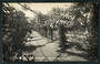 Real Photograph by Radcliffe of The Rosary Public Gardens Christchurch. - 48398 - Postcard