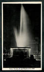 Real Photograph by A B Hurst & Son of Bowker Fountain at night Christchurch. - 48402 - Postcard