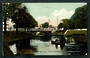 Coloured Postcard of Antigua Street Bridge Christchurch. - 48406 - Postcard