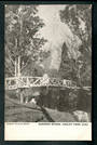 Postcard of Gardens Bridge Hagley Park Christchurch. - 48407 - Postcard
