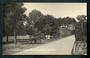 Real Photograph by Radcliffe of The Public Gardens Christchurch. - 48408 - Postcard