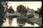 Real Photograph by Radcliffe of The Avon Christchurch. - 48414 - Postcard