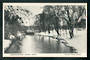 Postcard of Christchurch under snow. Victoria Street Bridge. - 48417 - Postcard