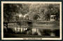 Real Photograph by A B Hurst & Son of Bridge in Gardens. - 48420 - Postcard