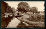 Real Photograph of The Avon from the Hereford Street Bridge. - 48459 - Postcard