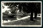 Real Photograph by A B Hurst & Son of Avon River Bank Christchurch. - 48488 - Postcard