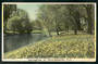 Tinted postcard by N S Seaward of Springtime in Christchurch - 48491 - Postcard