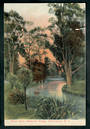 Coloured Postcard of Avon River Helmore's Bridge. Damage. - 48492 - Postcard
