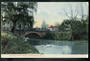 Coloured postcard of Armagh Street Bridge Christchurch. - 48507 - Postcard