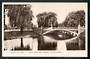 Real Photograph of River Avon and Bridge Christchurch. - 48523 - Postcard