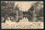 Early Undivided Postcard by Muir & Moodie. On the Avon Christchurch. - 48540 - Postcard