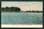 Coloured postcard by Muir and Moodie of Lake Victoria Hagley Park Christchurch. - 48547 - Postcard