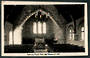 Real Photograph by A B Hurst & Son of the interior of Memorial Church Cave. - 48576 - Postcard