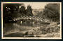 Real Photograph by A B Hurst & Son of Queens Gardens Nelson. - 48604 - Postcard